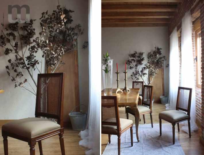 Estudio Marcos Mela Comedor Proyecto Segovia Casa Rural Decoracion Interiorismo